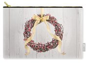 Berry Decorated Wreath Carry-all Pouch