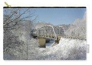 Bert White Bridge Carry-all Pouch