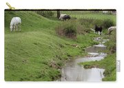 Beside The Still Waters Percherons Carry-all Pouch