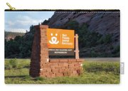 Best Friends Animal Sanctuary Angel Canyon Knob Utah Signage 01 Carry-all Pouch
