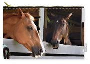 Best Friends Horse Chat Carry-all Pouch