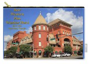 Best Western Plus Windsor Hotel Carry-all Pouch
