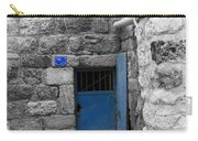 Bethlehem - Blue Old Door Carry-all Pouch