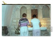 Bethlehem - Milk Grotto Church Lighting Candles Carry-all Pouch