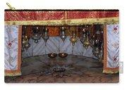 Bethlehem - Nativity Church - Silver Star Carry-all Pouch