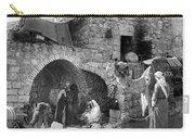Bethlehem - Nativity Scene Year 1900 Carry-all Pouch