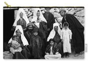 Bethlehem Family In 1900s Carry-all Pouch