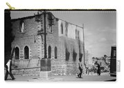 Bethlehem Police Barracks Burned Down On 1938 Carry-all Pouch