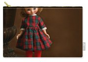Betsy In Plaid Carry-all Pouch