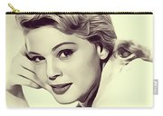 Betsy Palmer, Vintage Actress Carry-all Pouch