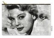 Betsy Palmer Vintage Hollywood Actress Carry-all Pouch