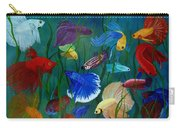 Bettas In Motion Carry-all Pouch