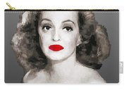 Bette Davis Draw Carry-all Pouch