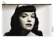 Bettie Page, Pinup Model Carry-all Pouch