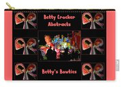 Betty Crocker's Abstracts - Betty's Bowties Carry-all Pouch