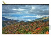 Between The Clouds Blue Ridge Parkway North Carolina Art Carry-all Pouch