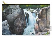 Betws-y-coed Waterfall In North Wales Carry-all Pouch