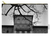 Beverly Wilshire Hotel - Beverly Hills - Black And White Carry-all Pouch