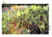 Beyond The Red Flowers Carry-all Pouch