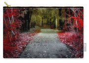 Beyond The Red Leaves Carry-all Pouch