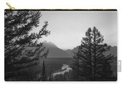 Beyond The Trees Bw Carry-all Pouch