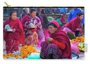 Bhaktapur Holi Market Carry-all Pouch