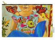 Bianka And Butterflies Carry-all Pouch