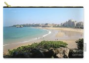 Biarritz Beach Panorama Carry-all Pouch