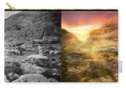 Bible - Psalm 23 - Yea, Though I Walk Through The Valley 1920 - Side By Side Carry-all Pouch
