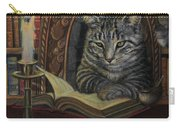 Bibliocat Reads To His Friends Carry-all Pouch