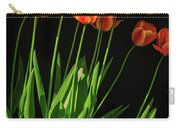Bicolor Tulips Carry-all Pouch