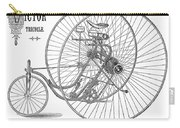 Bicycle, 1884 Carry-all Pouch