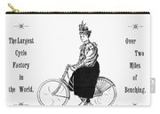 Bicycle, 1897 Carry-all Pouch