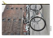 Bicycle And Building Carry-all Pouch