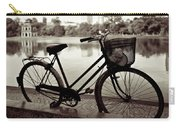 Bicycle By The Lake Carry-all Pouch