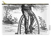 Bicycle, C1870s Carry-all Pouch by Granger