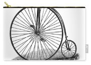 Bicycle Camera Ad, 1887 Carry-all Pouch by Granger
