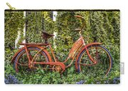Bicycle In The Garden Carry-all Pouch