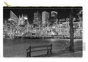 Bicycle On The Plein At Night - The Hague  Carry-all Pouch