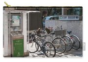 Bicycle Parking And Smoking Station In Tokyo Japan Carry-all Pouch