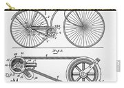 Bicycle Patent 1890 Carry-all Pouch