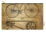 Bicycle Patent  Carry-all Pouch