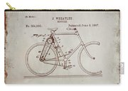 Bicycle Patent Drawing 4a Carry-all Pouch