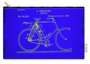 Bicycle Patent Drawing 4b Carry-all Pouch