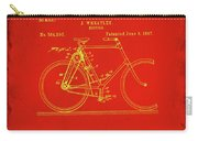 Bicycle Patent Drawing 4c Carry-all Pouch
