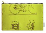 Bicycle Patent Drawing 4d Carry-all Pouch