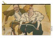Bicycle Poster, 1895 Carry-all Pouch