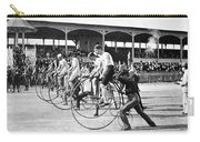 Bicycle Race, 1890 Carry-all Pouch