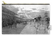 Bicycle Tournament, 1886 Carry-all Pouch by Granger