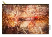 Bicycles In Amsterdam Carry-all Pouch by Richard Anderson